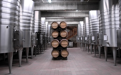 Modern Winery in California, USA