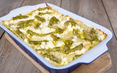 Asparagus Lasagna in Casserole