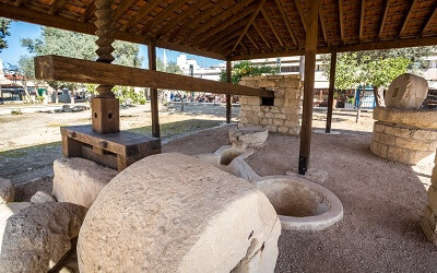 Ancient Wine Press in Limassol City