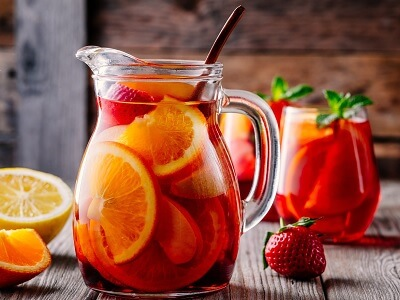 A Pitcher Filled with Sangria