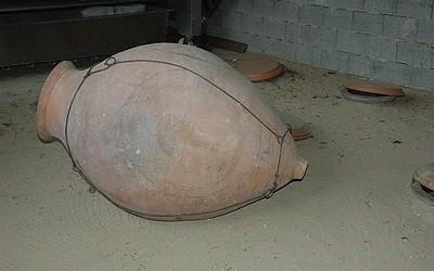 Qvevri Amphora for Making Orange Wine