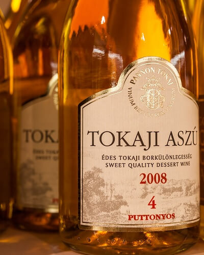 Bottle of Tokaji Aszú