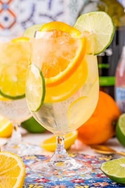 Port and Tonic Cocktail