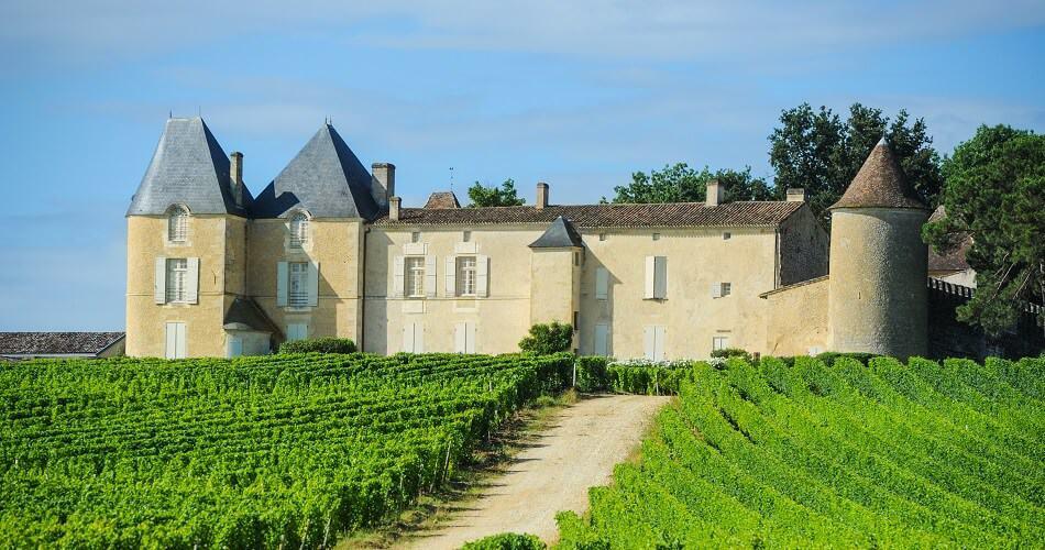 Wine Estate in the Sauternes Region